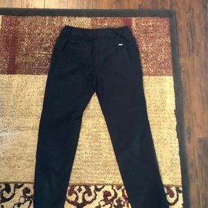 White House Black Market Pants - WHBM slim ankle black pants